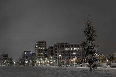 Arnulfpark Winter Snow