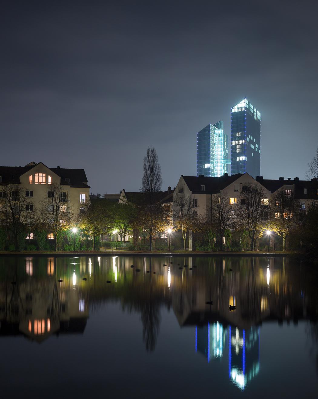 Towers München Nacht