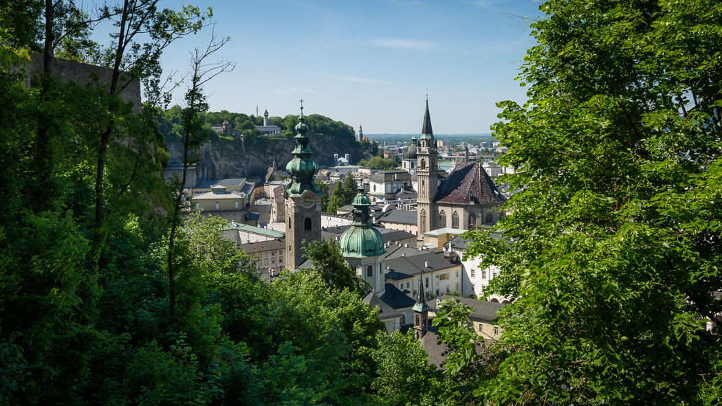 Salzburg Festung Hohensalzburg Altstadt Dom