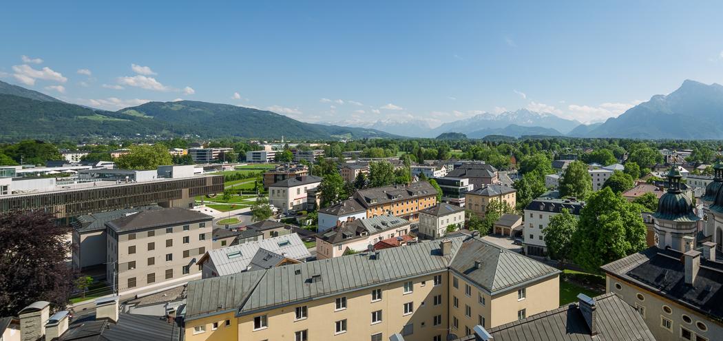 Salzburg Stift Nonnberg Unipark Nonntal