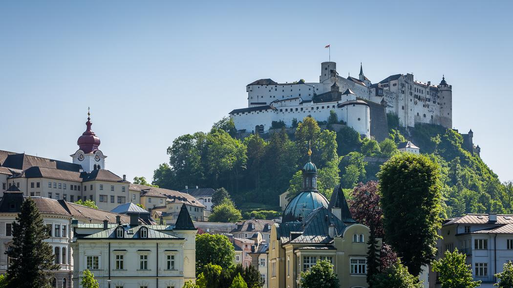 Salzburg Festung Hohensalzburg Altstadt
