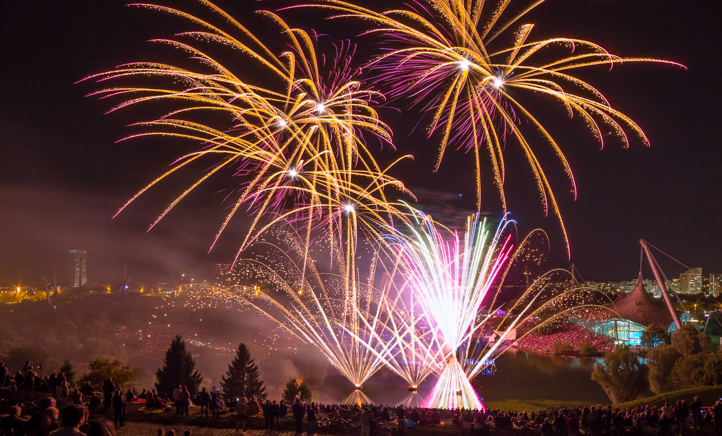 Summer Festival Munich Fireworks