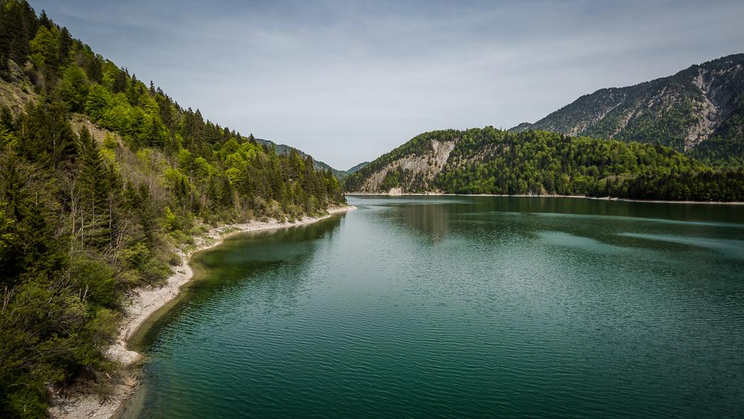 Sylvensteinspeicher See Alpen