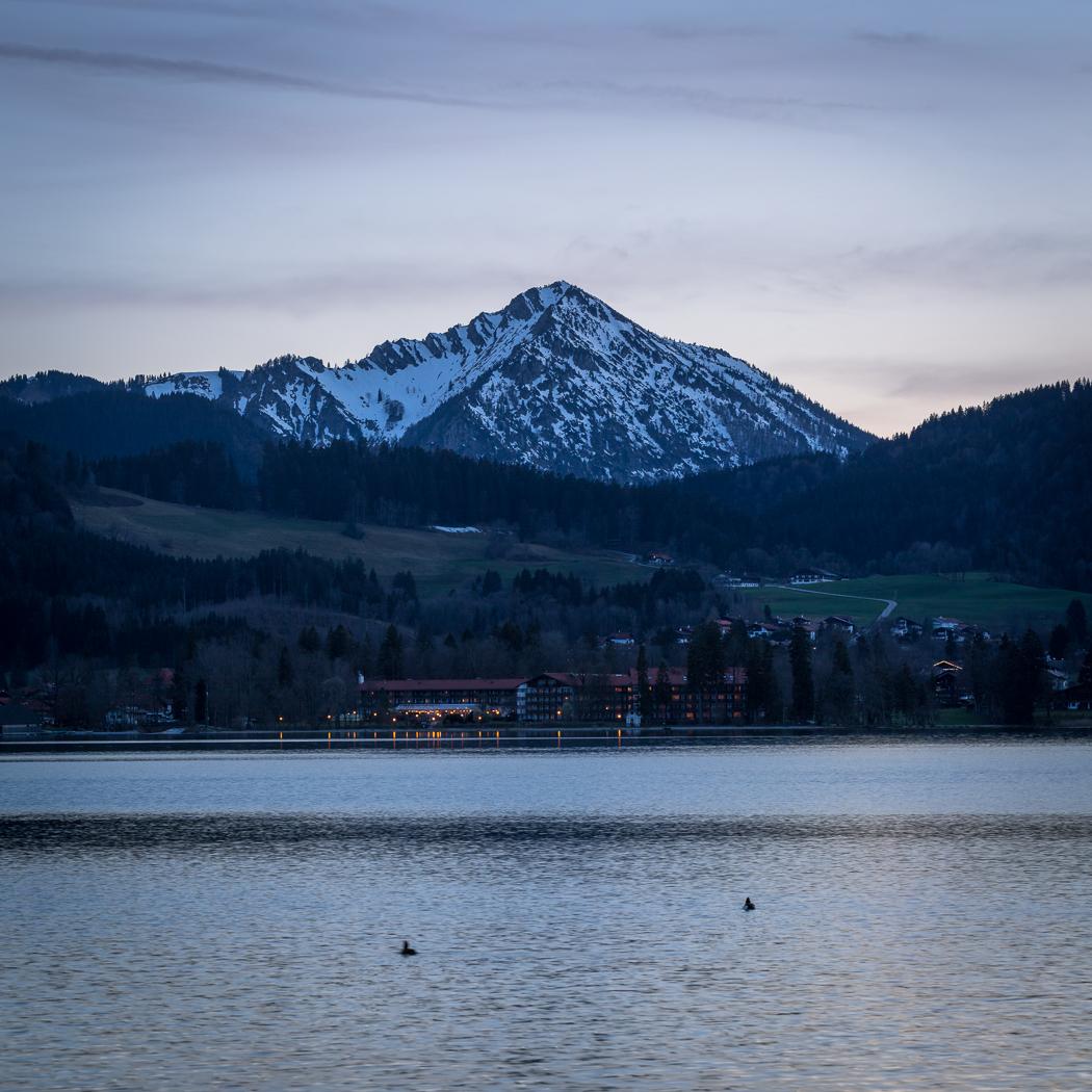 Tegernsee Alpen Rottach Egern Bayern