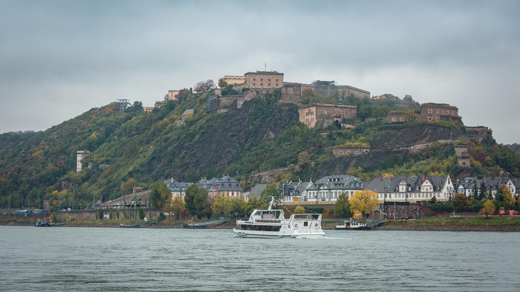 Koblenz Rheinland Pfalz Festung Ehrenbreitstein Rhein