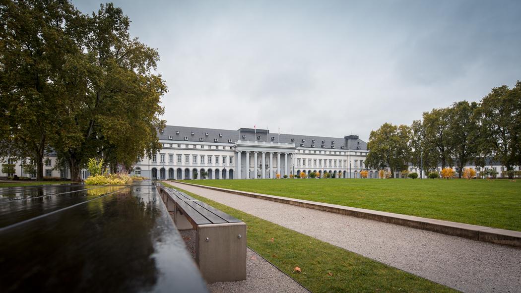 Koblenz Rheinland Pfalz Kurfürstliches Schloss