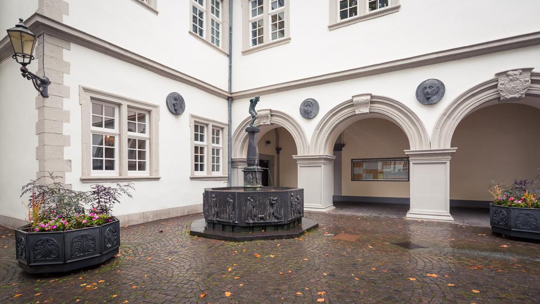 Koblenz Rheinland Pfalz Schängelbrunnen