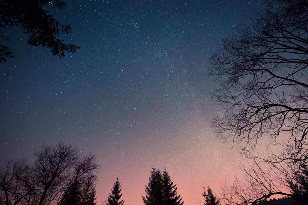 Night Sky Munich Milky Way