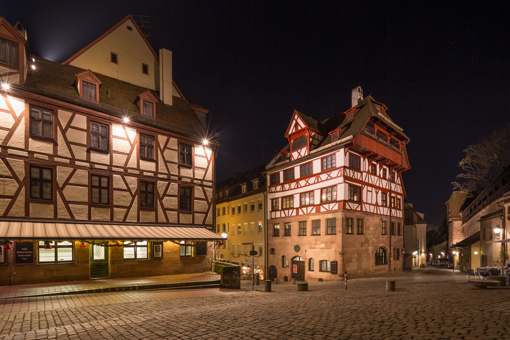 Nürnberg Nuremberg Albrecht Dürer Haus Bayern