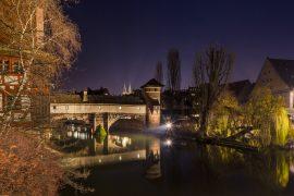 Nürnberg Pegnitz Maxbrücke Bayern