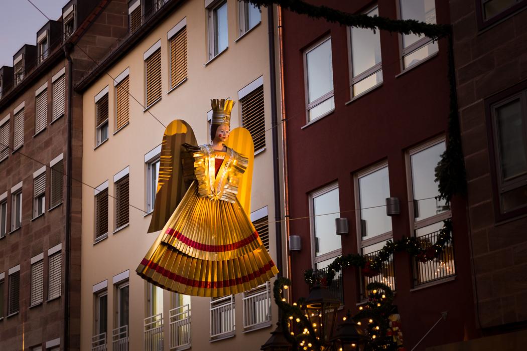 Nürnberg Rauschgoldengel Christkindlmarkt Bayern