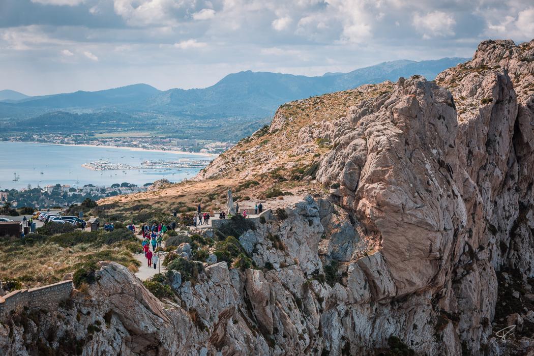 Mallorca Cap Formentor Tramuntana Pollença cliffs Spain