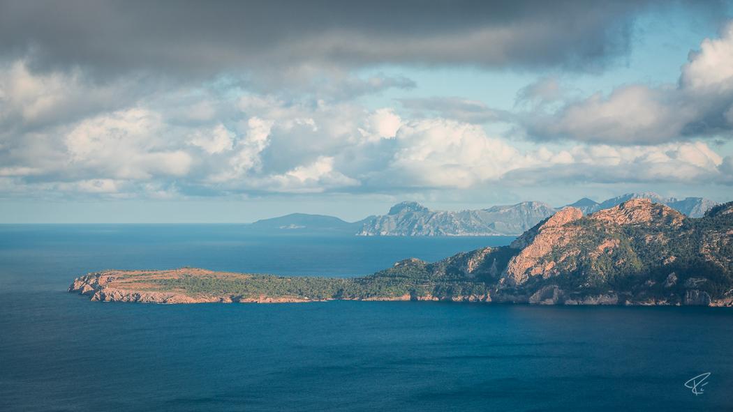 Mallorca Cap Formentor ocean bay Spain