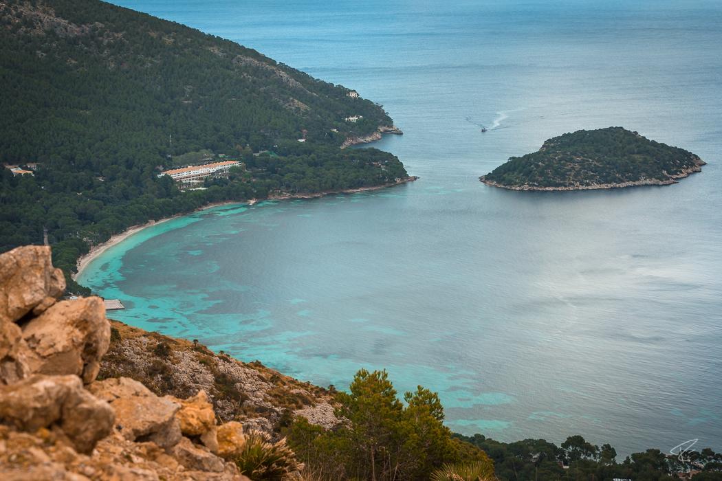 Mallorca Cap Formentor bay hotel Spain