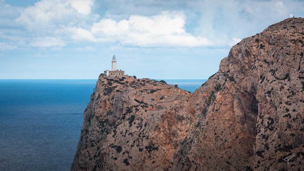 Mallorca Cap Formentor Tramuntana lighthouse ocean cliffs Spain