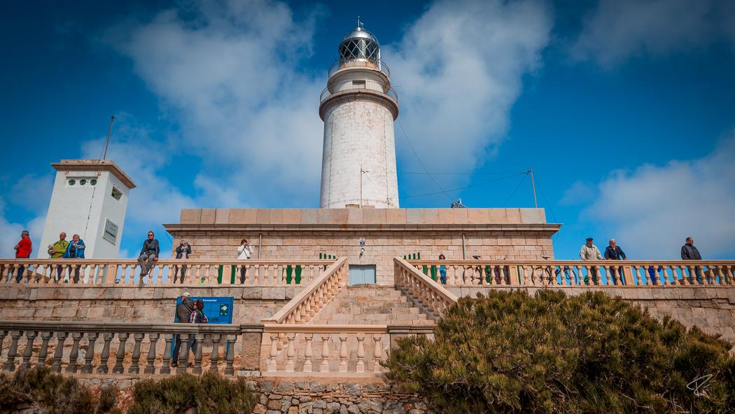 Mallorca Cap Formentor lighthouse Spain