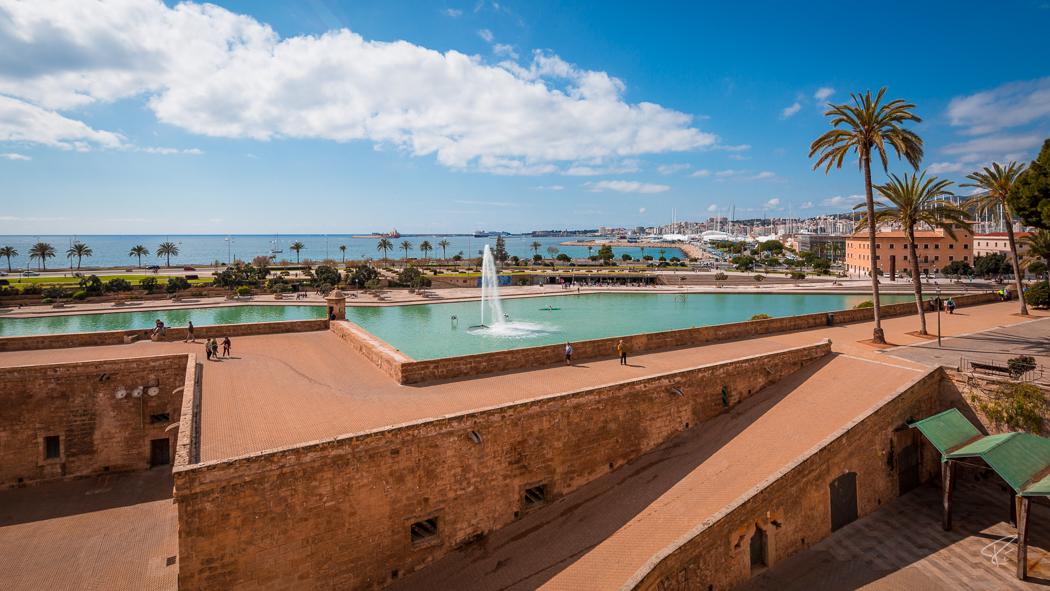 Palma de Mallorca Parc de la Mar