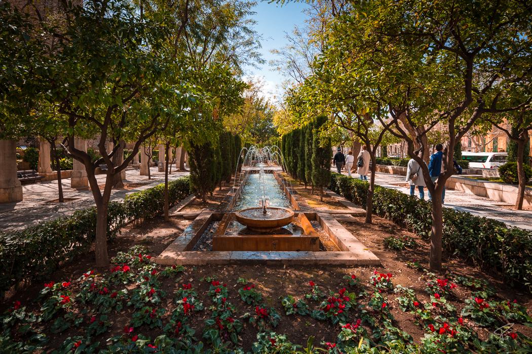 Palma de Mallorca Jardines de S'Hort del Rei