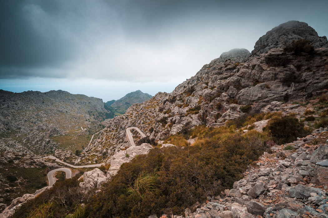 Mallorca Torrent de Pareis Sa Calobra Serra de Tramuntana cycling road
