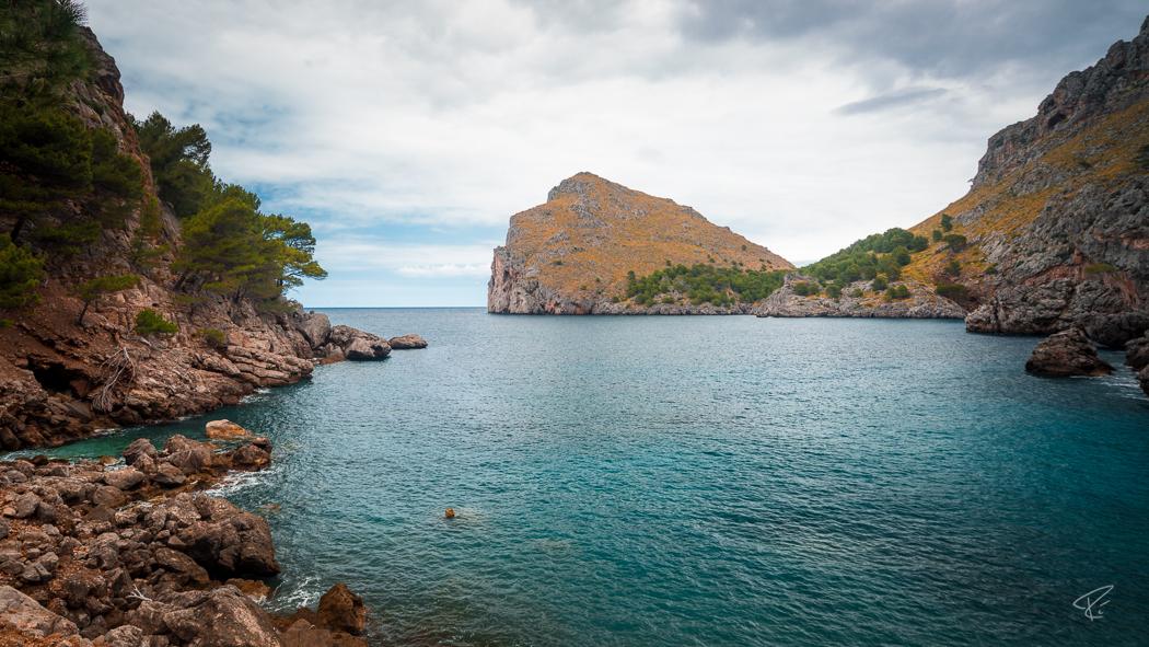 Mallorca Torrent de Pareis Sa Calobra Serra de Tramuntana ocean