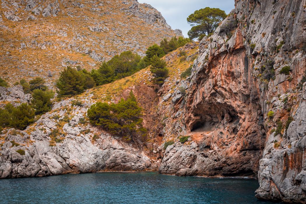 Mallorca Torrent de Pareis Sa Calobra Serra de Tramuntana cliffs