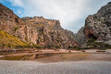 Mallorca Torrent de Pareis Sa Calobra Serra de Tramuntana canyon
