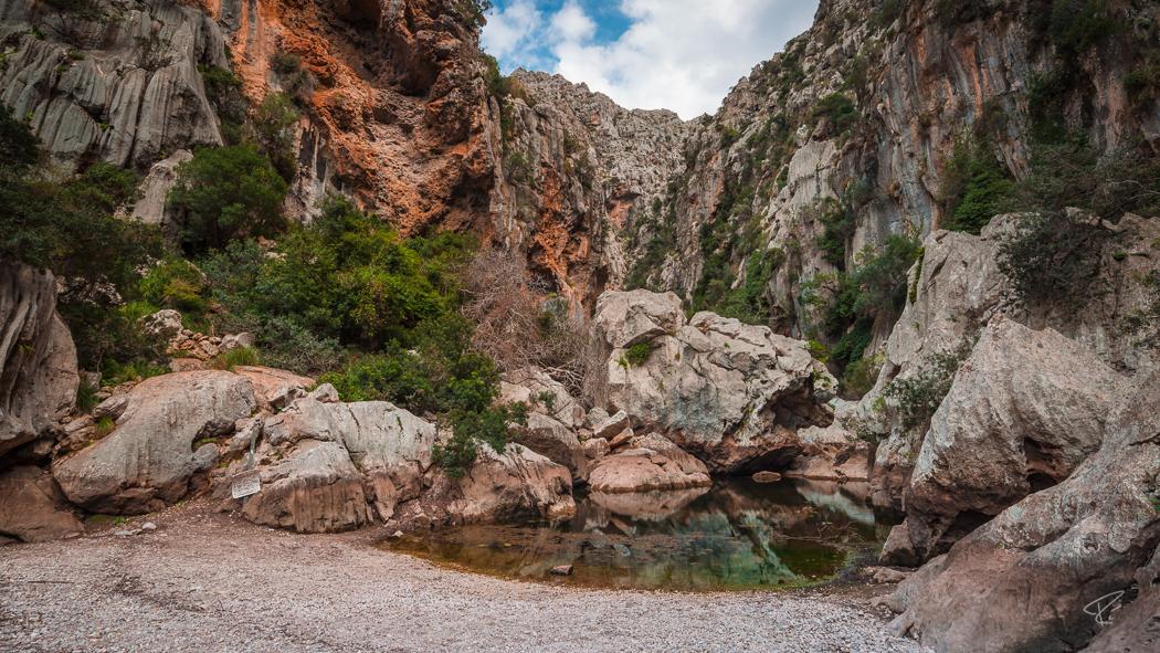 Mallorca Torrent de Pareis Sa Calobra Serra de Tramuntana canyon rocks