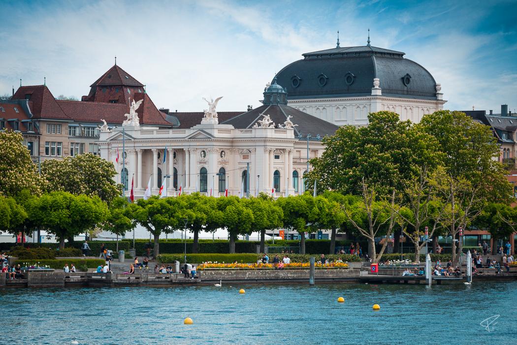 Switzerland Zurich Opera House