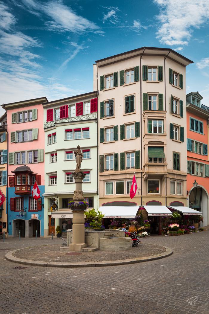 Switzerland Zurich Augustinergasse