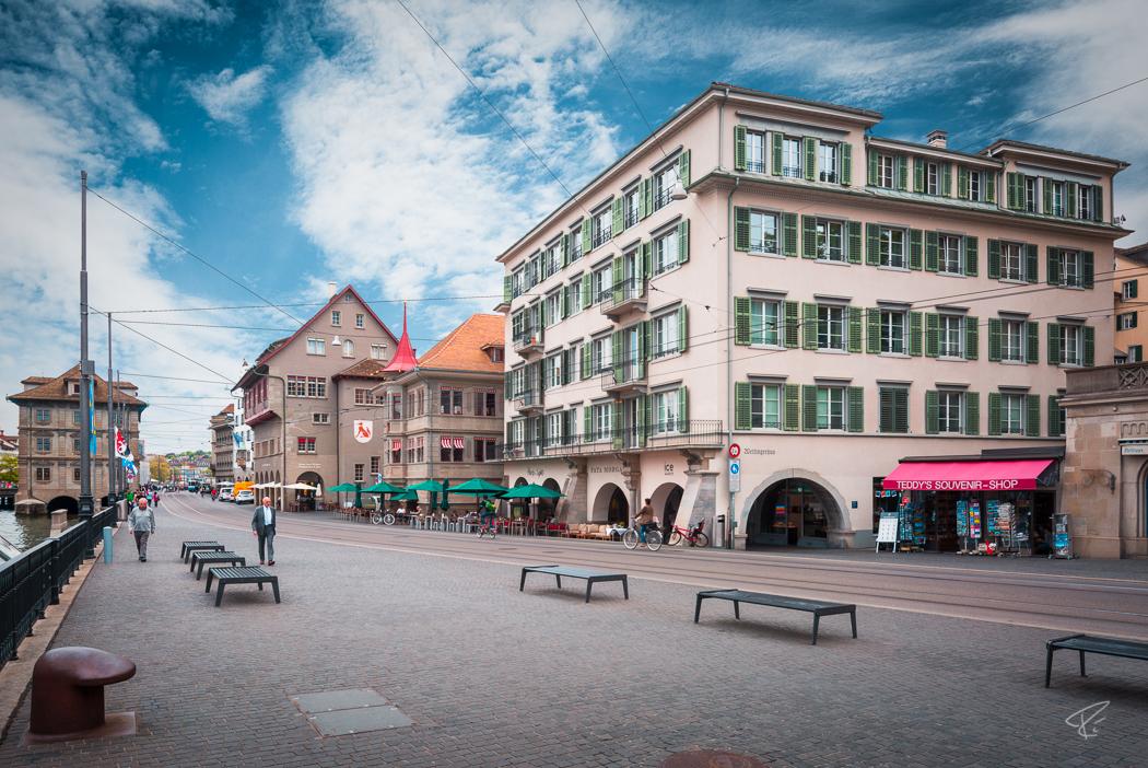 Switzerland Zurich Limmatquai