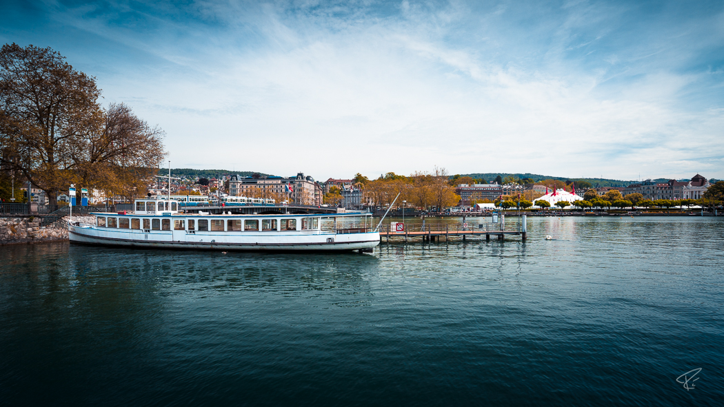 Switzerland Zurich Lake Boat
