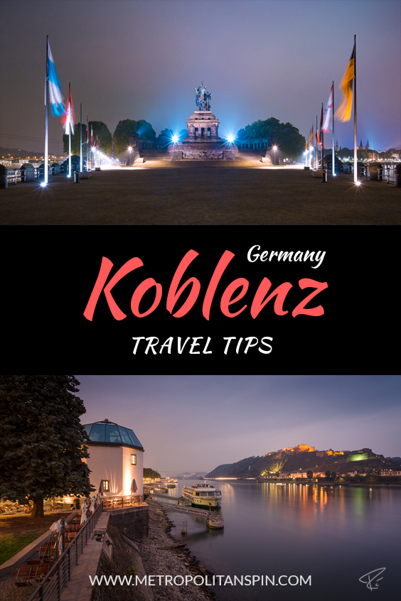 Koblenz Travel Tips Pinterest Cover