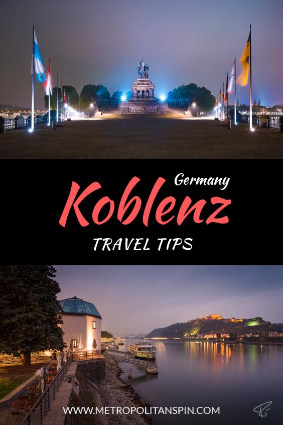Koblenz Travel Tips Pinterest Cover