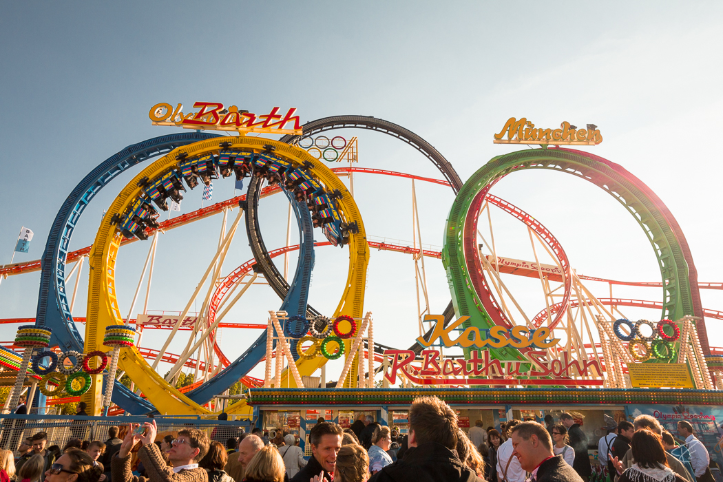 Oktoberfest Wiesn Munich Olympia Looping