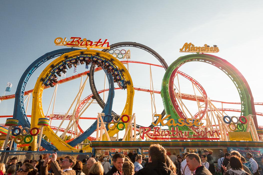 Oktoberfest Wiesn Munich Olympia Looping