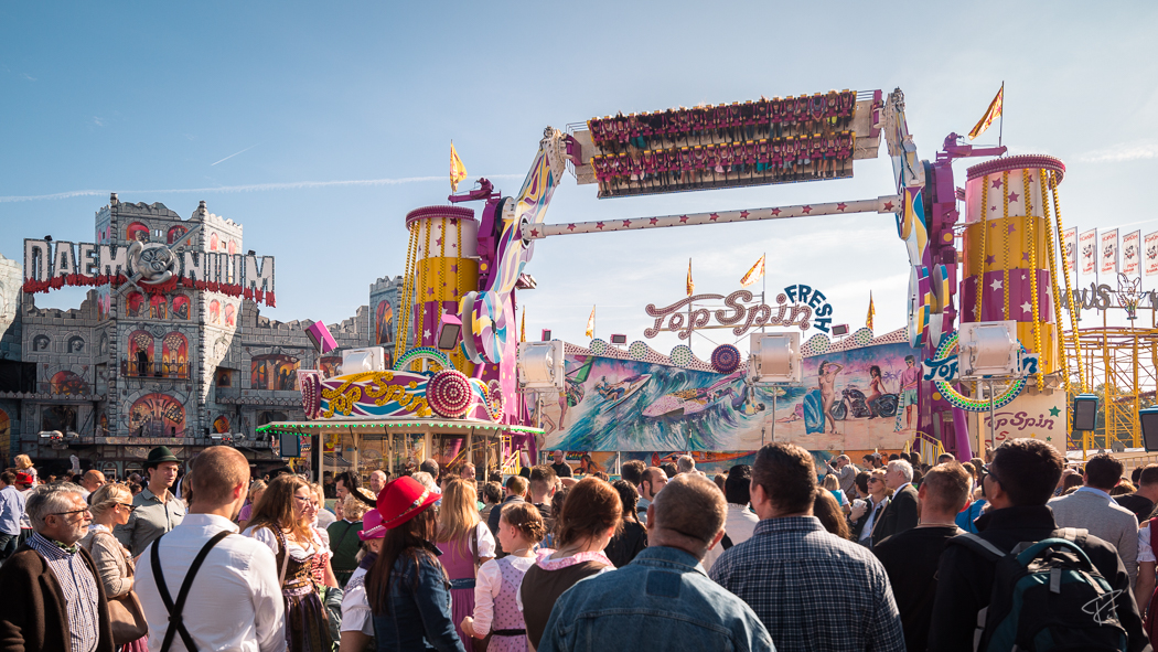Oktoberfest Wiesn Munich Top Spin