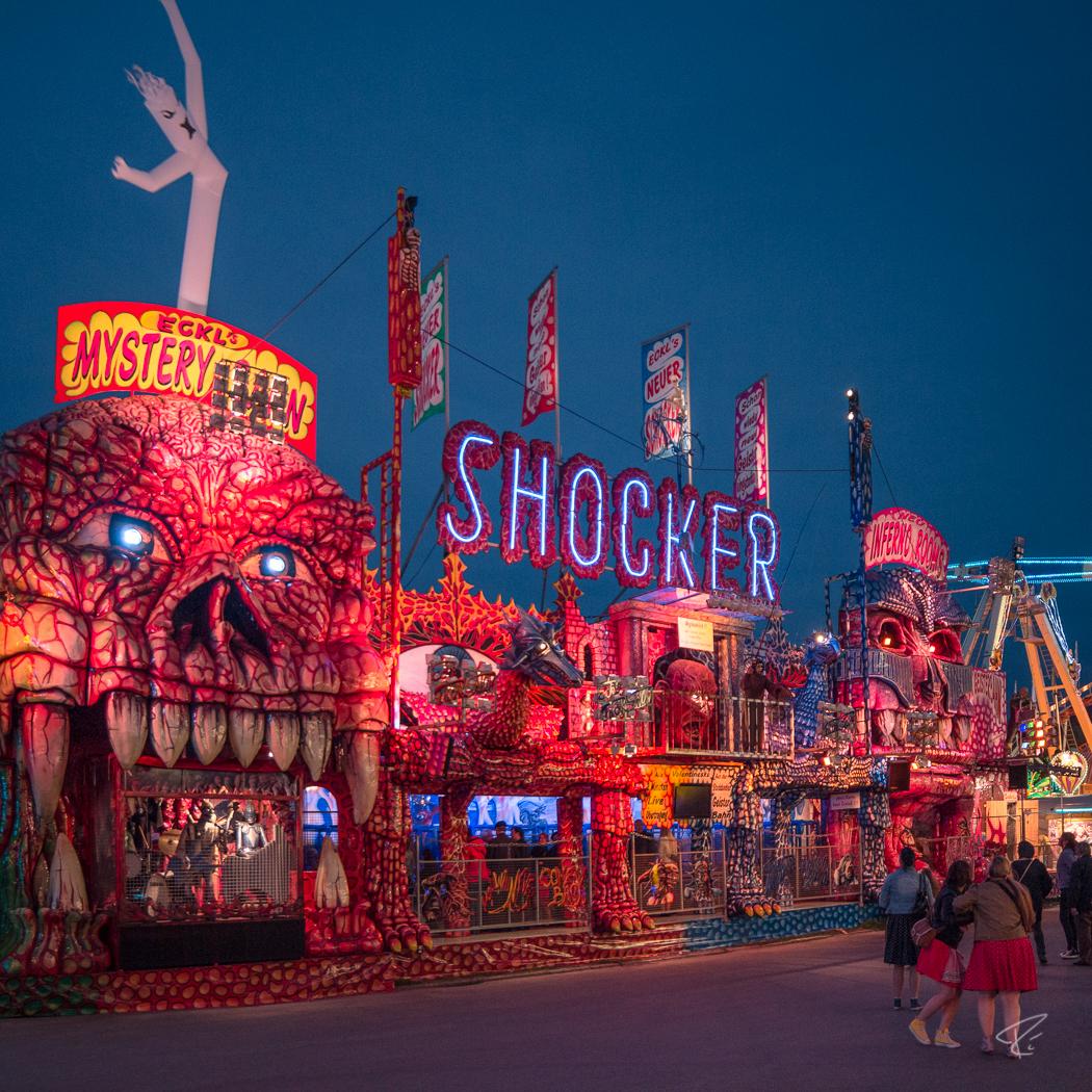 Oktoberfest Wiesn Munich Shocker Geisterbahn
