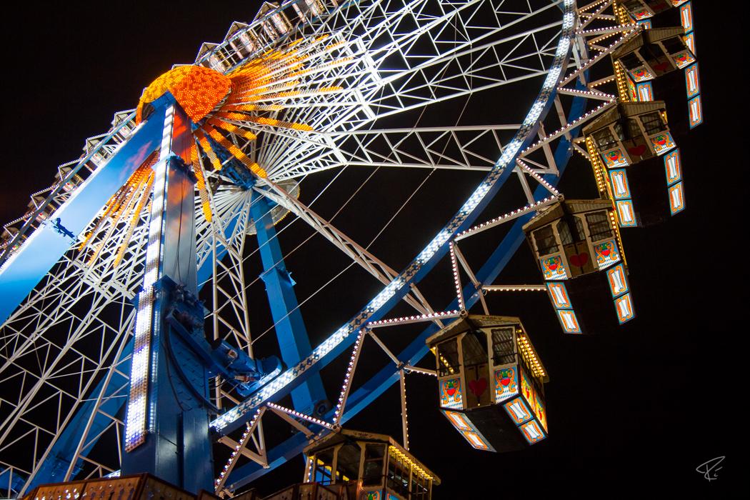 Oktoberfest Wiesn Munich Riesenrad