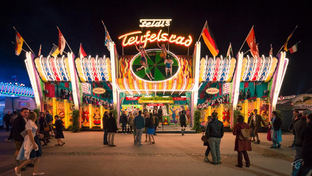 Oktoberfest Wiesn Munich Teufelsrad