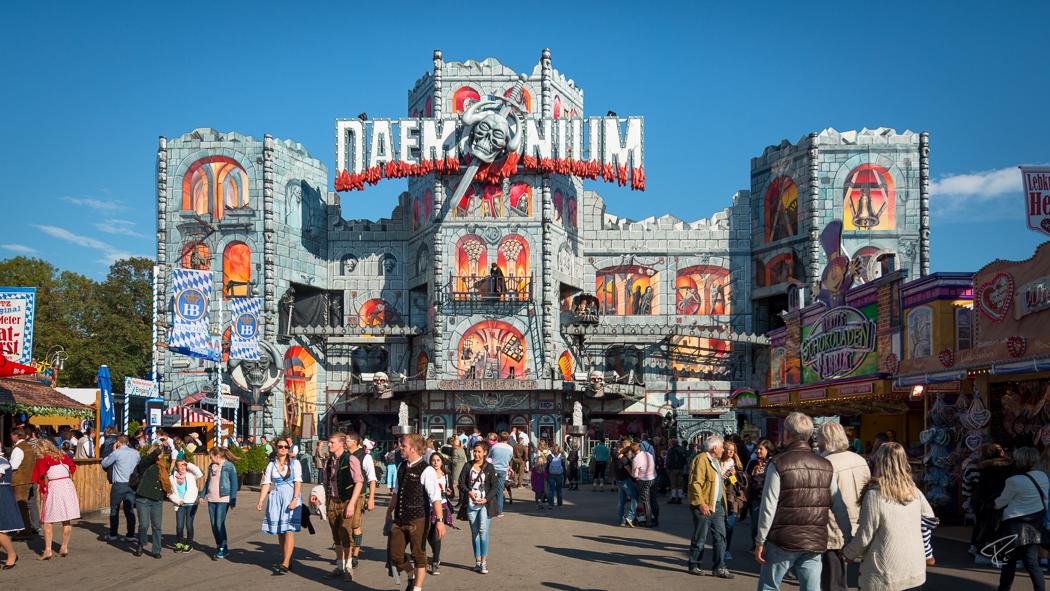Oktoberfest Wiesn Munich Daemonium