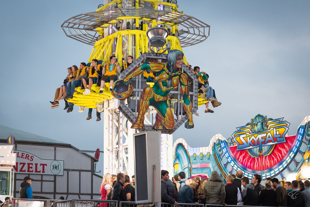 Oktoberfest Wiesn Munich Skyfall