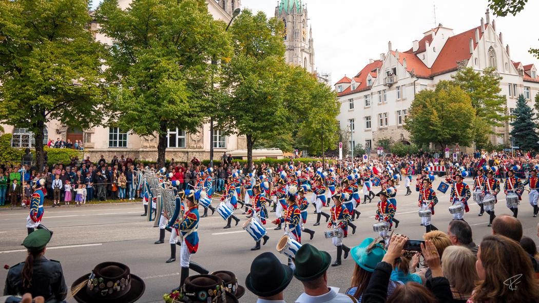 Oktoberfest Wiesn Munich Festzug