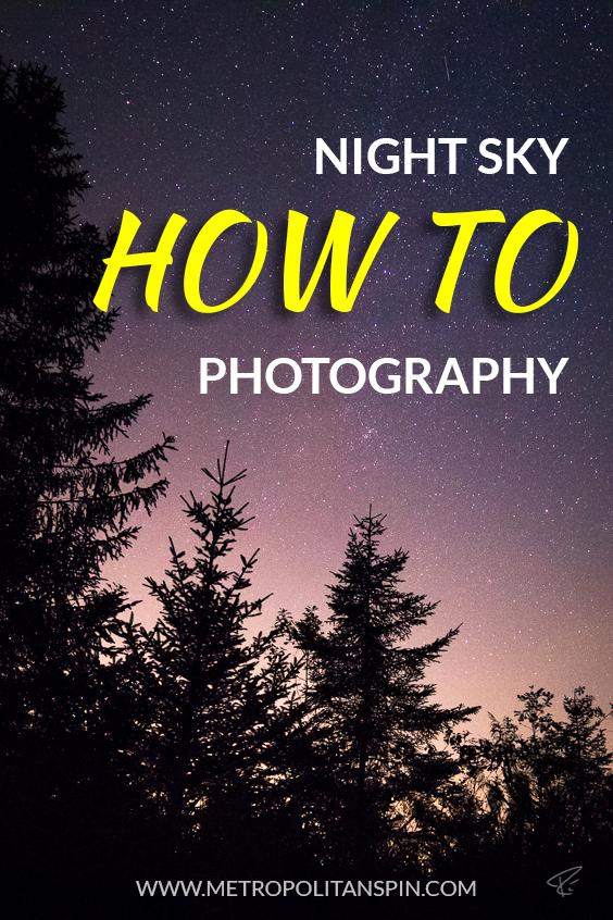 Tutorial Shooting Night Sky Cover Pinterest