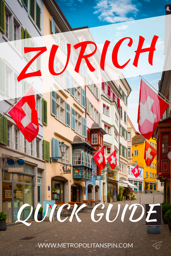 Zurich Quick Guide Cover Pinterest