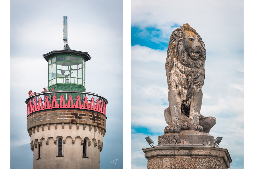 Lindau Germany Löwe Leuchtturm