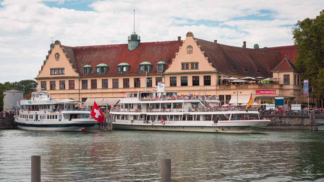 Lindau Germany Bodensee Lake Constance boats