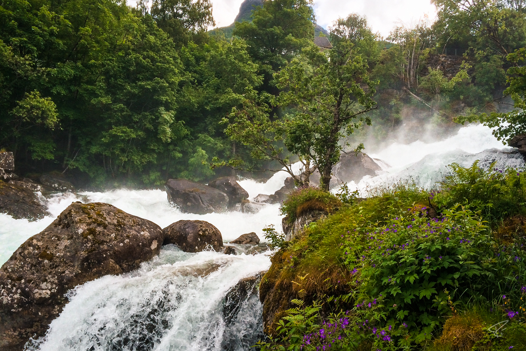 Geirangerfjord Norway Geiranger waterfall
