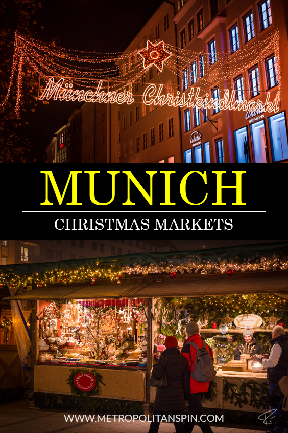 Christkindlmarkt Munich Pinterest Cover