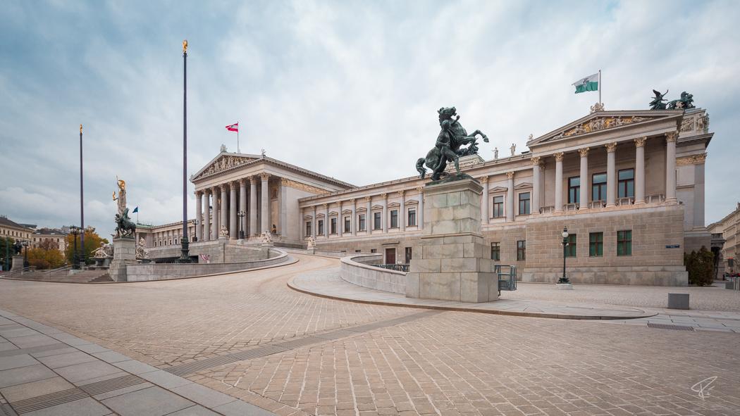 Vienna Parlamentsgebäude