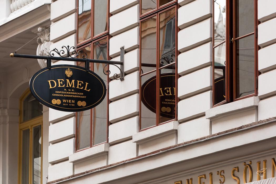 Vienna Coffee Houses Kaffeehaus Demel